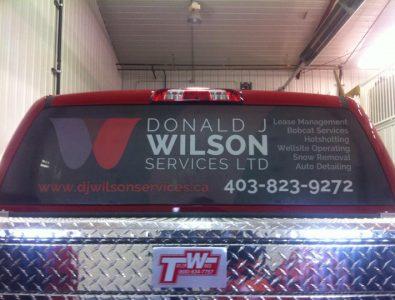 Donald J Wilson Services