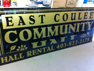 East Coulee Community Hall