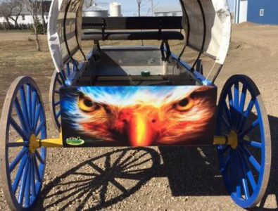 Custom Wagon Wrap